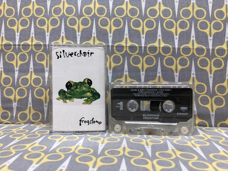 Frogstomp by Silverchair Cassette Tape rock alternative