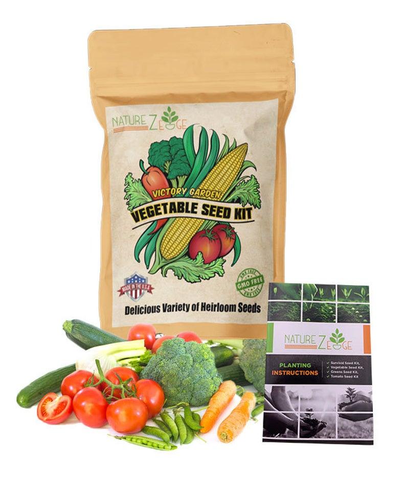 Garden Seeds Vegetable Variety Seed Pack 11 Varieties of