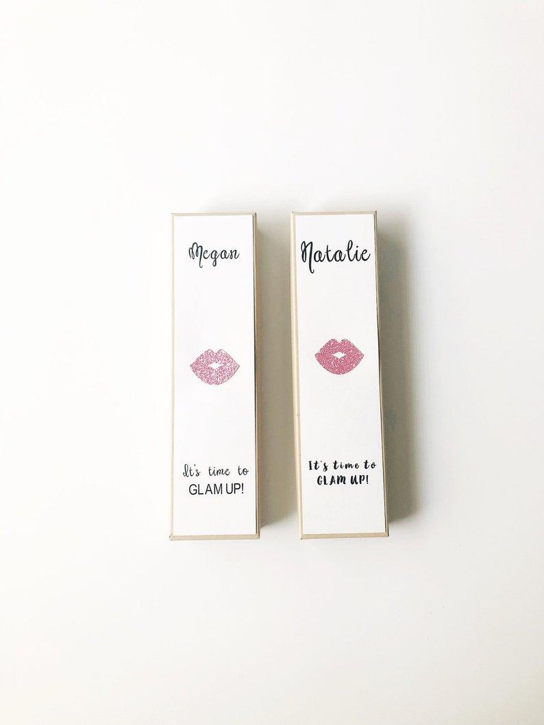 Lip Gloss Bridesmaid Proposal