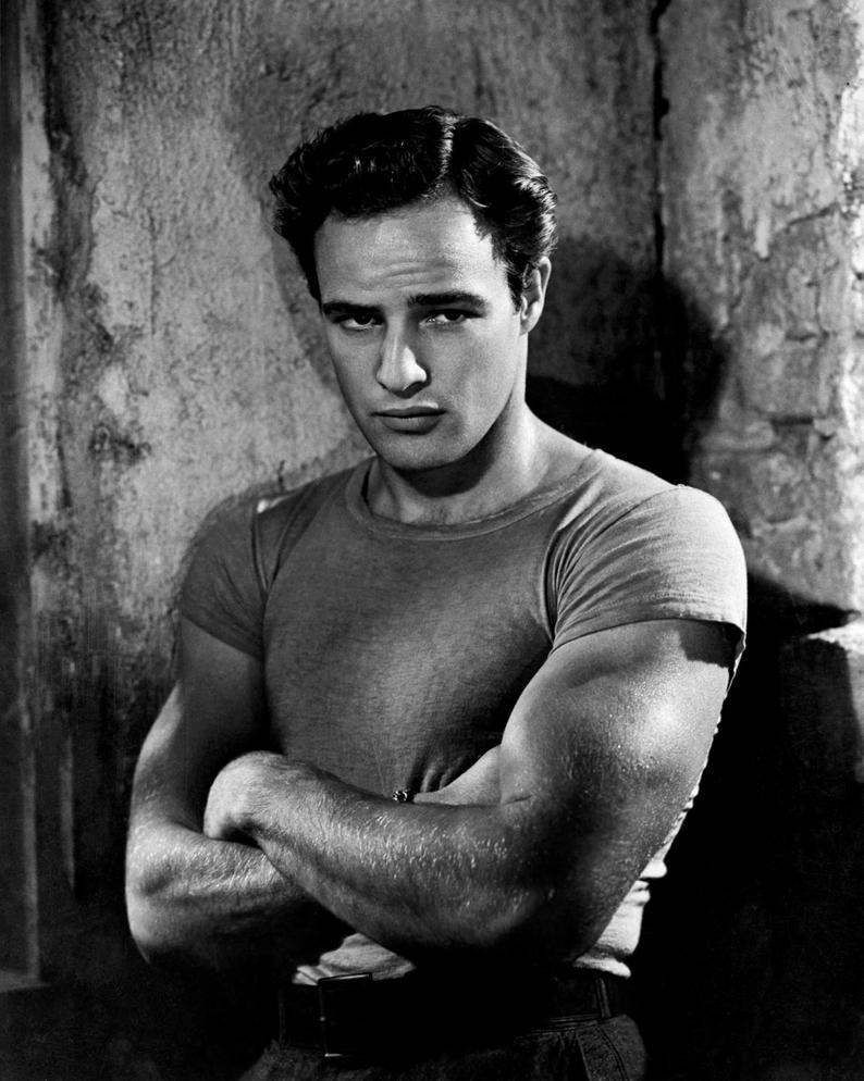 Marlon Brando Iconic Hollywood Poster Art Photo 11×14