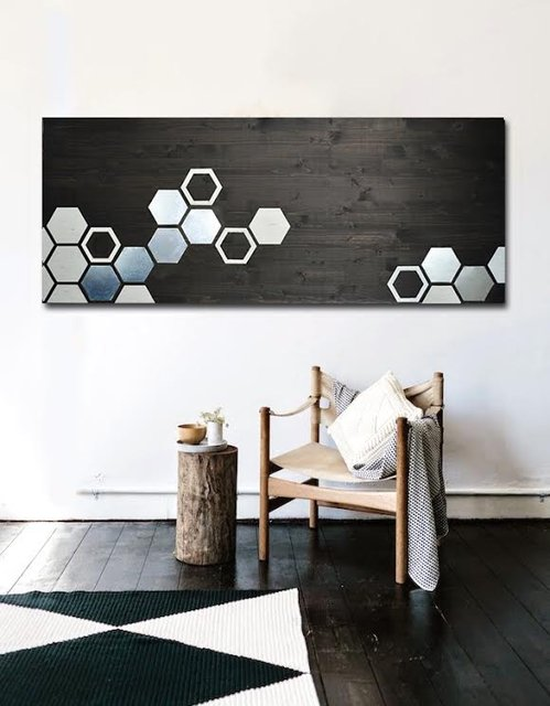 Mod Honeycomb by Mod Wood Art
