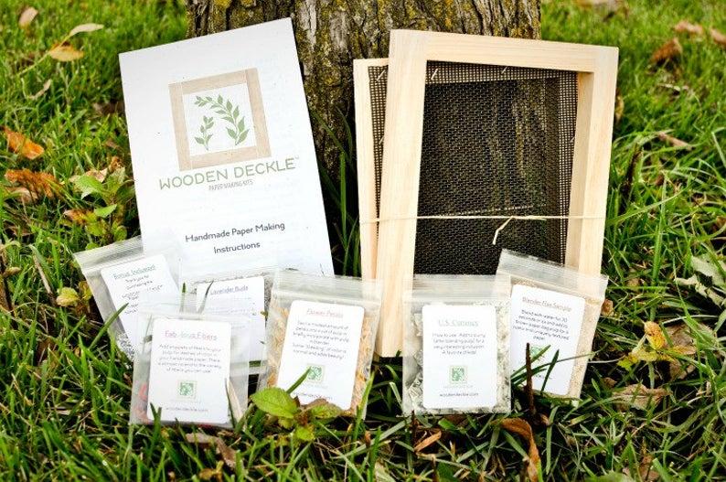 Paper Making Kit: Original 5×7  Kit for Handmade Paper