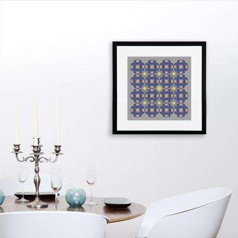 Quarter Dots Manipulation No. 7, Fine Art Print by Anitanh