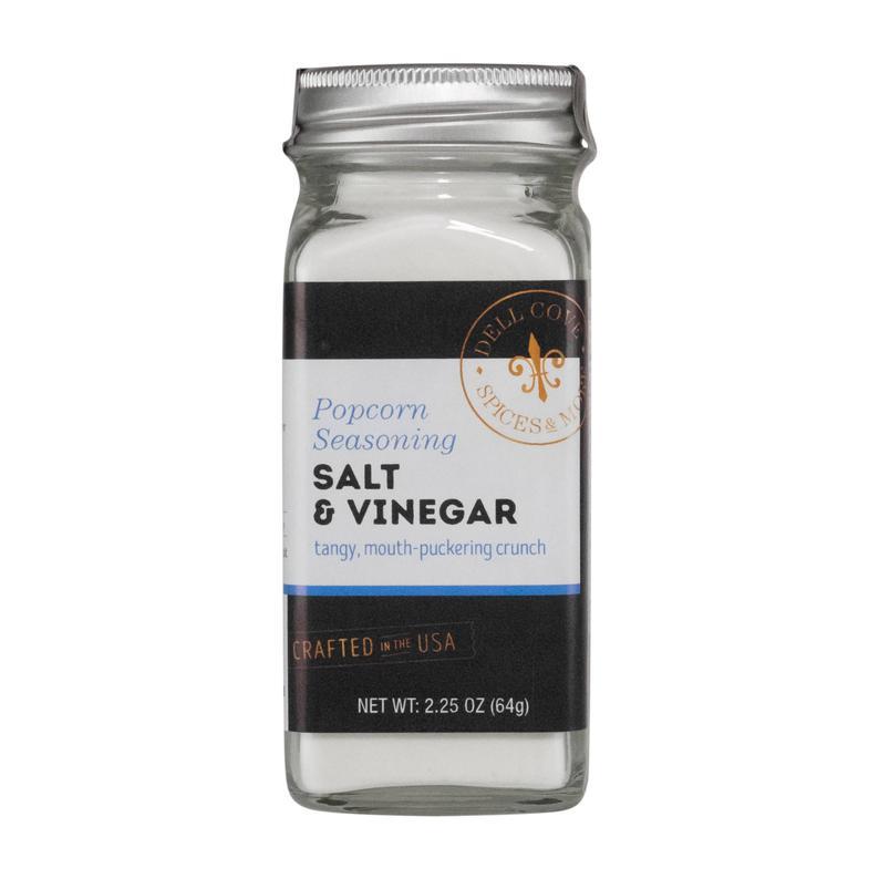 Salt and Vinegar Popcorn Seasoning  make gourmet popcorn at