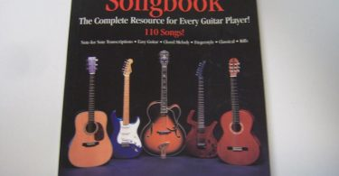 The Ultimate Guitar Songbook 110 Songs Great Music Book