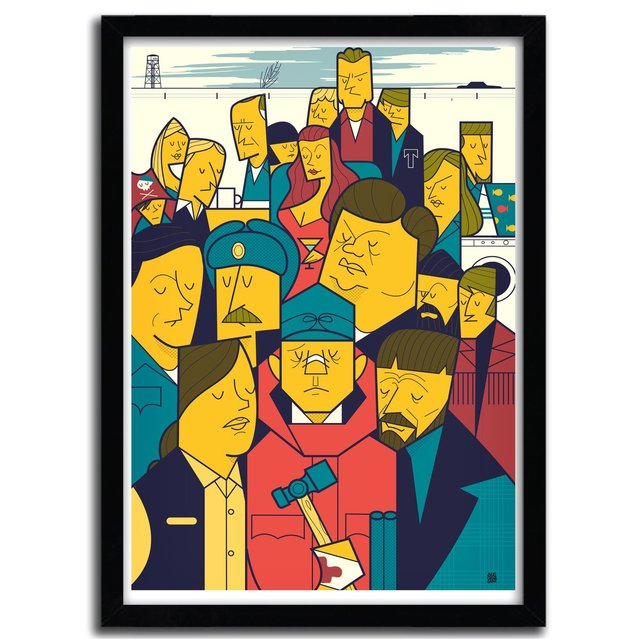This Is A True Story Print by Ale Giorgini