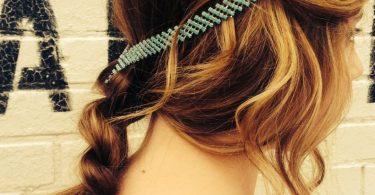 Trendy Hair Jewelry Hair Chain Accessory Tribal Hair Chain