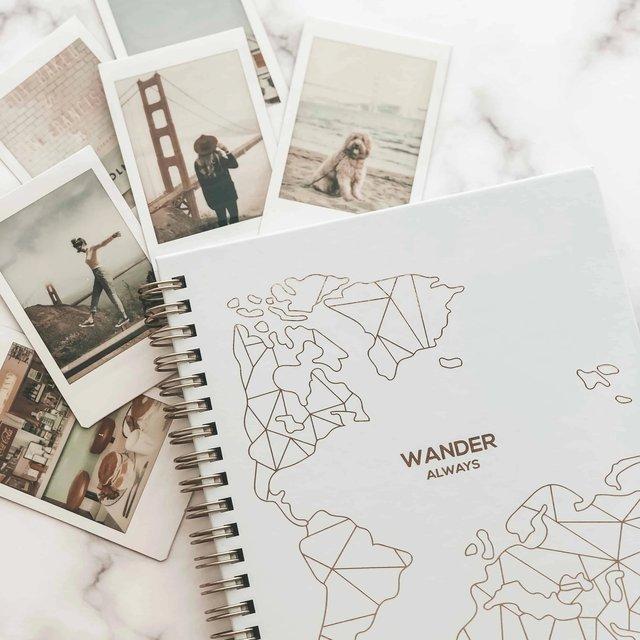 Wander Always Travel Planner & Journal