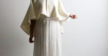 Wedding cape White cape Hooded cape Bridal cape Bridal