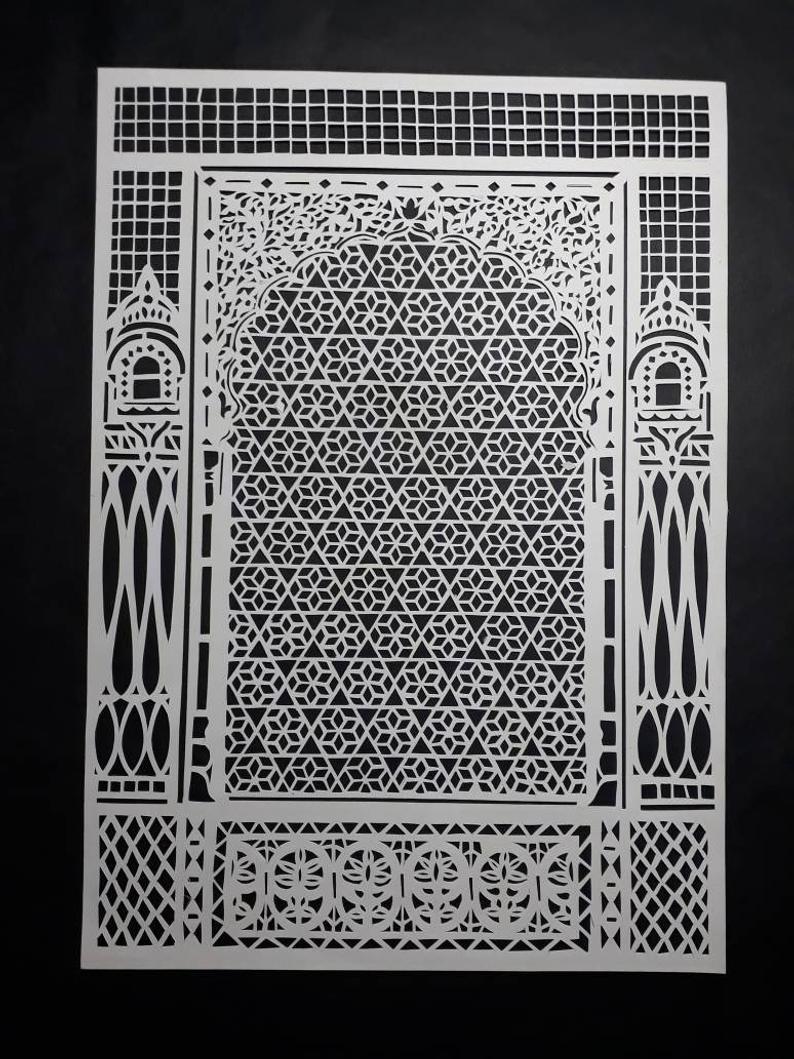Zarukha papercut art