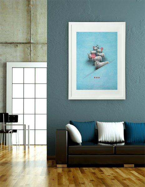 supervision, Fine Art Print by Sami Petman