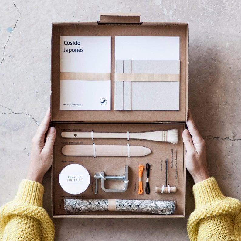 Bookbinding Kit: Japanese Sewing
