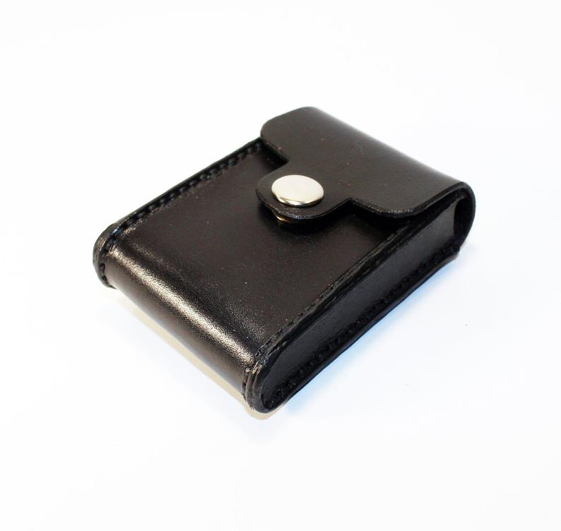 Credit Card Holder leather  Business Card Holder Black