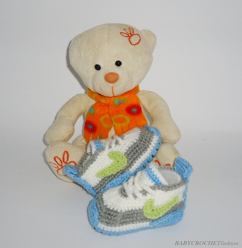 Crochet Baby Shoes Crochet Baby Boots Baby Booties  Cute