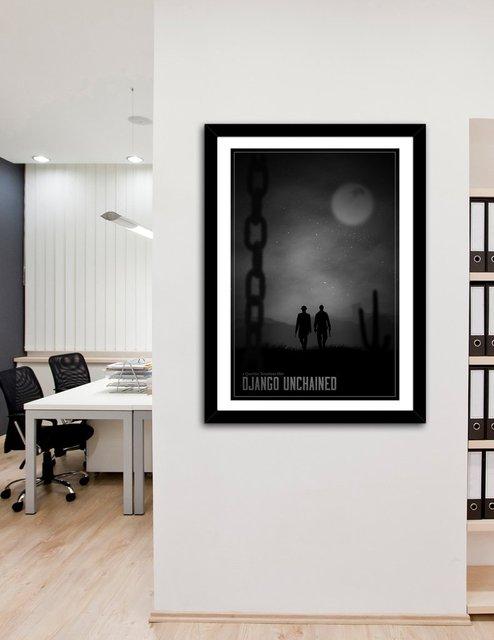 Django In Limbo, Fine Art Print by Segap