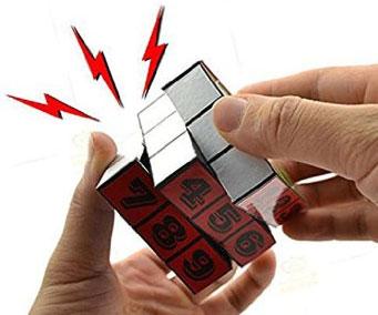 Electric Shock Prank Puzzle Cube