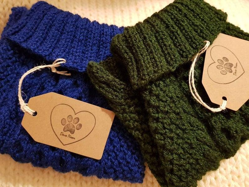 Hand Knitted / Dog Jumper / Cat Jumper / Custom Made for All