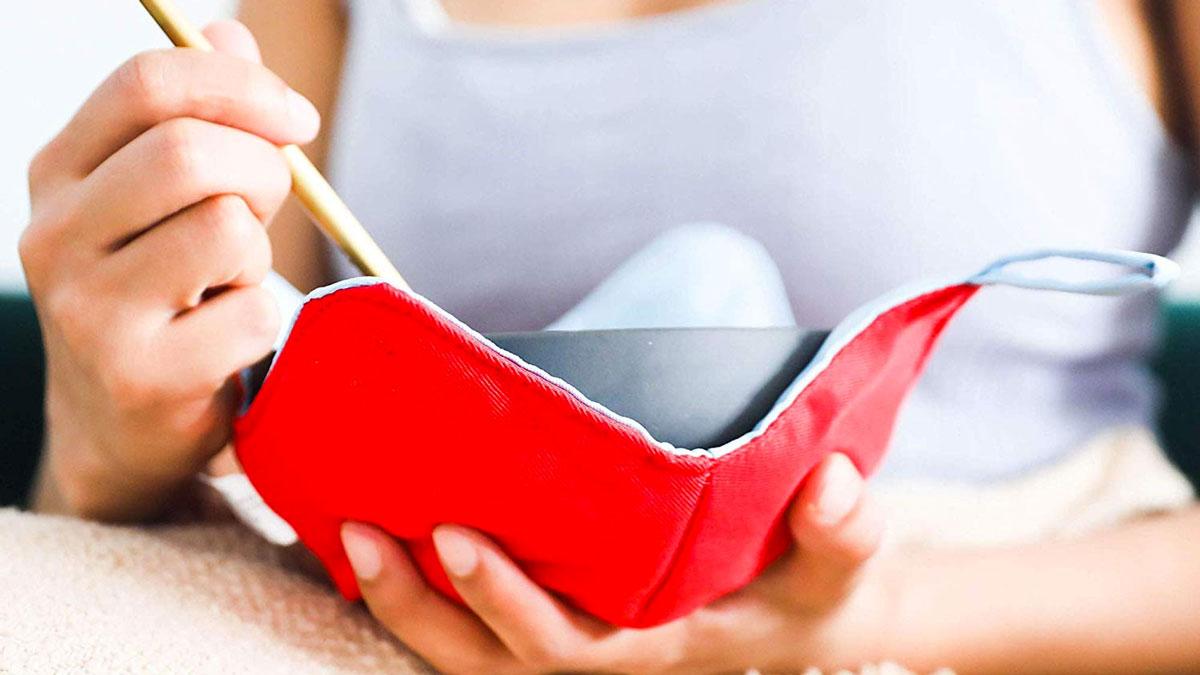 Heat Resistant Microwavable Bowl Holder