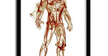 Iron Man Smoke Print by Octavian Mielu