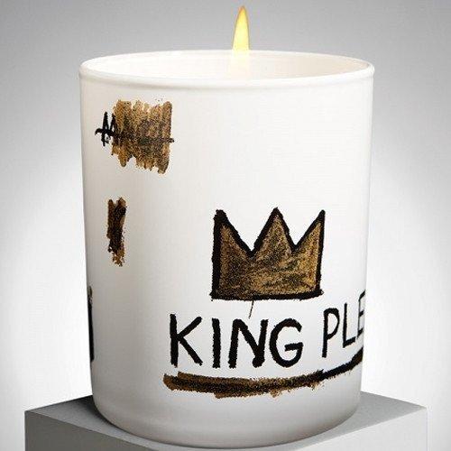 Jean-Michel Basquiat King Pleasure Candle