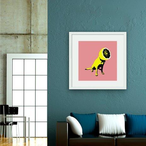 Lemon, Fine Art Print by Ali Gulec