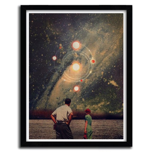 Light Explosions Print by Frank Moth