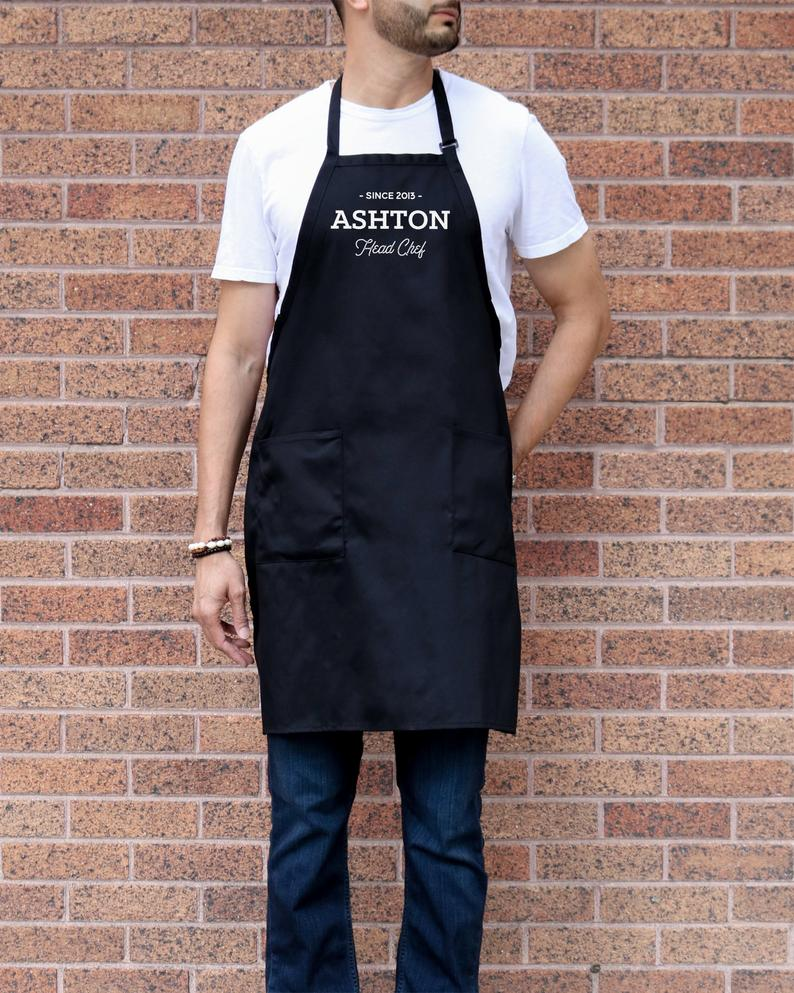 Mens Aprons customized  Aprons for Men Personalized Mens