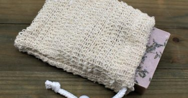 Natural Sisal Soap Pouch Exfoliating Soap Sack Made with