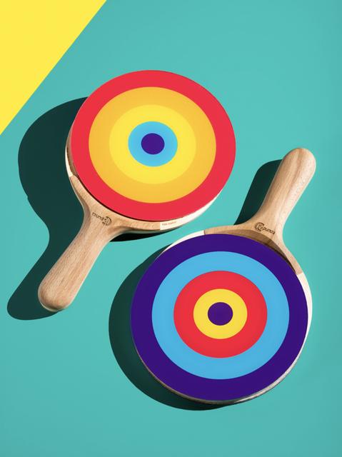 """On Target"" Ping Pong Paddle"