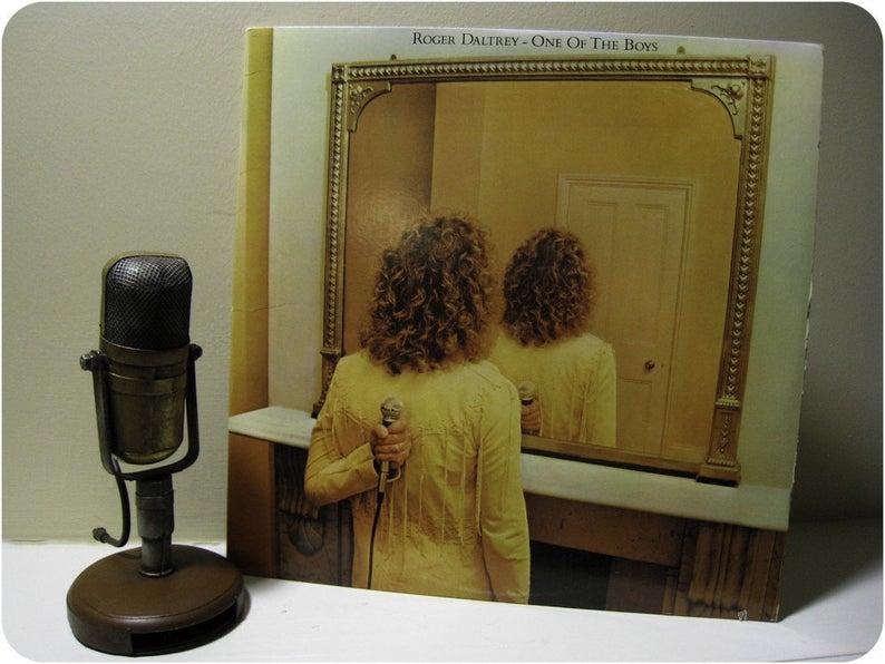 Roger Daltrey One of the Boys Vinyl Record Album