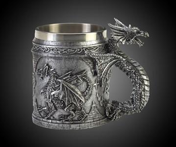 Serpentine Dragon Mug