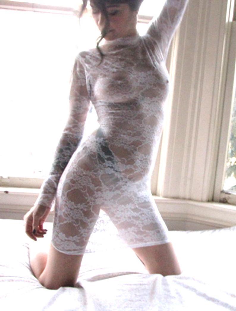 Sheer Dress  Lingerie  Sheer Lingerie  Lace Dress Women