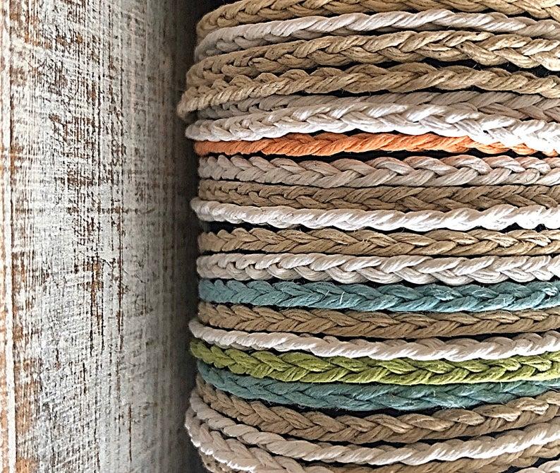 Simple Braid Tie On Friendship Bracelets  27 Colors & 3 Sizes