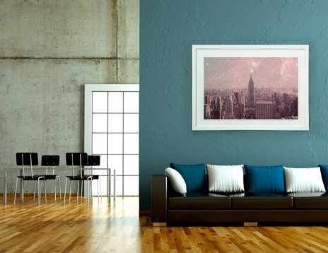 Stardust Covering New York, Fine Art Print by Bianca Green