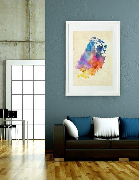 Sunny Leo, Fine Art Print by Robert Farkas