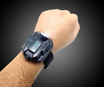 Super Bright Tactical Flashlight Wristwatch