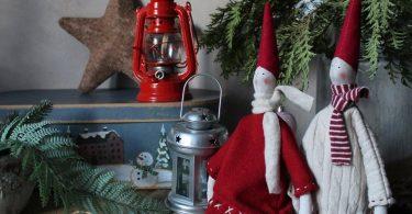 Tilda dolls Scandinavian Christmas dolls Pixie elf doll