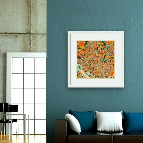 Washington DC, Fine Art Print by Jazzberry Blue