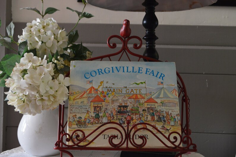 A Tasha Tudor book corgiville fair  year 1971