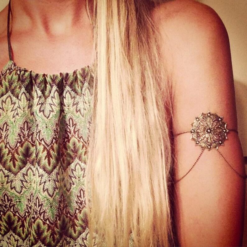 Arm Chain Arm Cuff Armlet Arm Band Body Jewelry