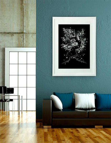 Beauty Cannot be Interrupted, Fine Art Print by Tobe Fonseca