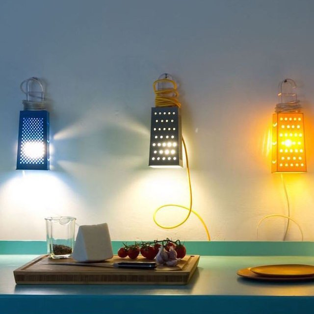 Cacio&Pepe Wall Lamp by In-Es.artdesign