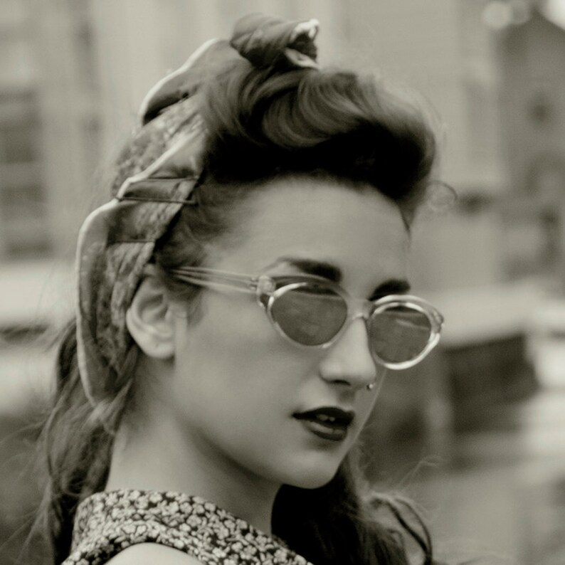 Cats eye sunglasses vintage retro sunglasses NOS 80's