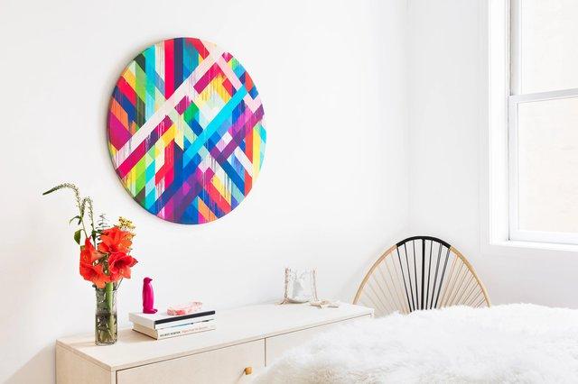 Circle Weave Print