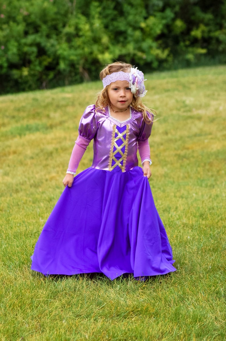 Comfortable Rapunzel Dress Soft Stretchy Non itchy machine