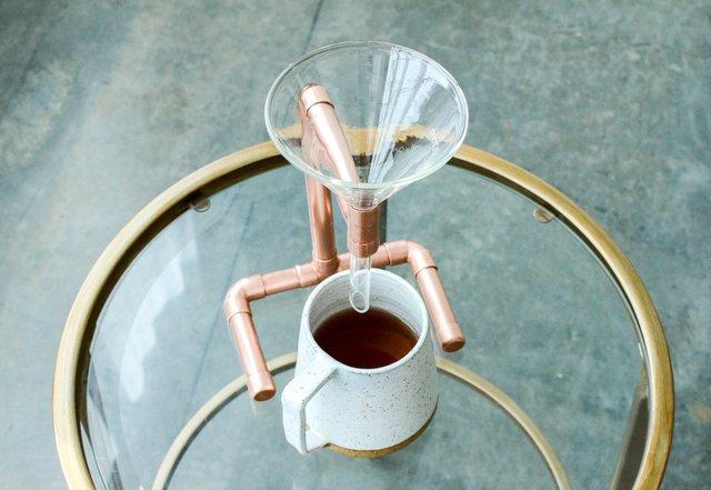 Copper Coffee Pour Over