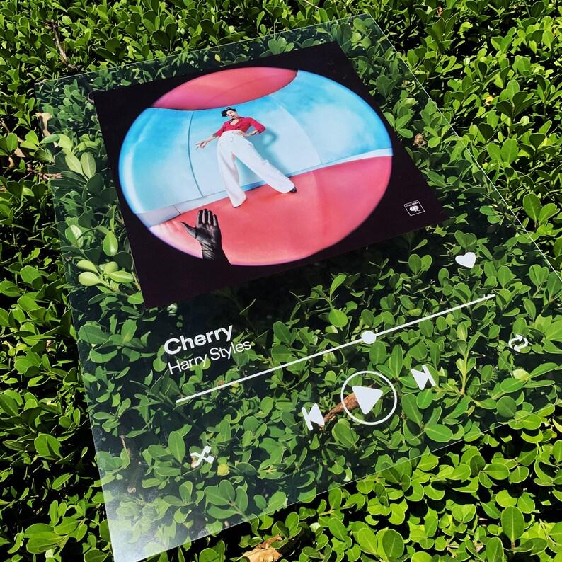 Custom Acrylic Song Playlist Album Art Cover Decor Piece