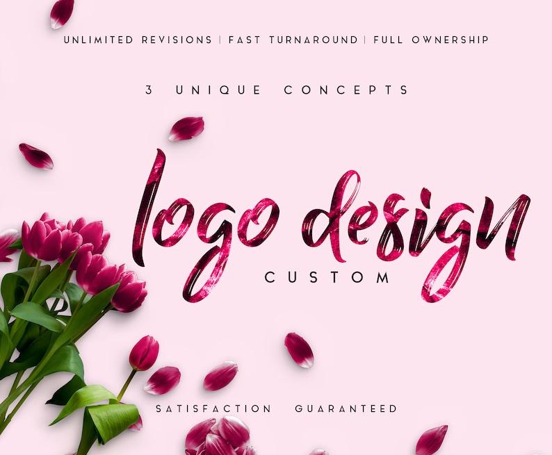Custom Logo DesignPink Logo Pack Business & Branding Logo