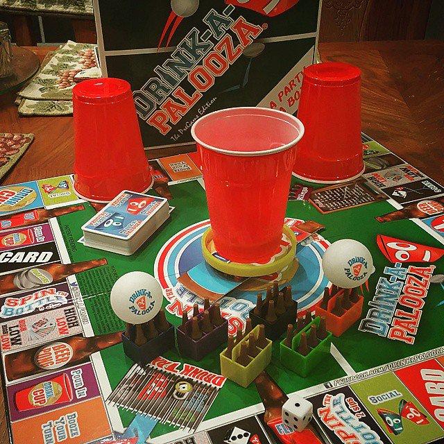Drink a Palooza Board Game
