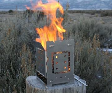 Firebox 5″ Folding Campfire Stove